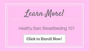 breastfeeding 101 breastfeeding class