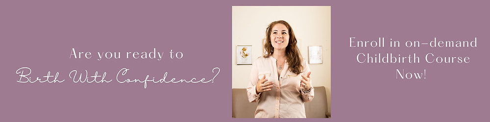 Doula teaches about estimated due date chilbirth class online mom blog pregnancy blog