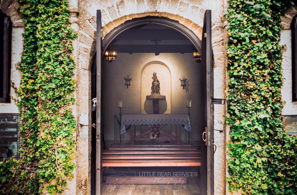 Shrine of Our Lady of La Leche in St Augustine Florida