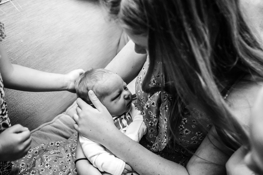Welcome Home Baby Wichita Falls Family Photographer