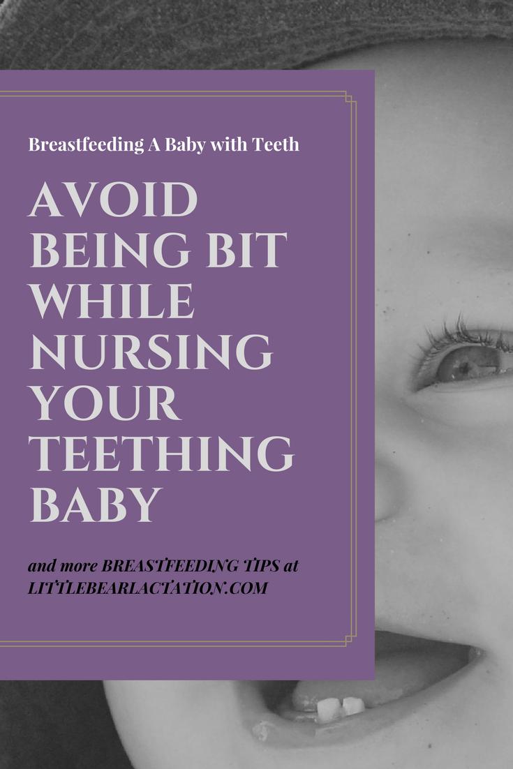 Breastfeeding Baby With Teeth