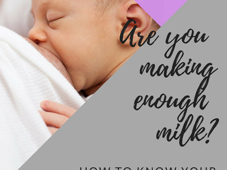 Do I have low milk supply? Is my baby eating enough?