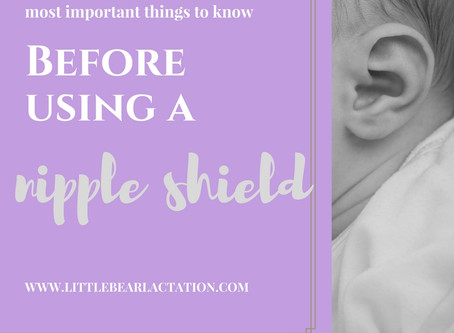 When to use a Nipple Shield