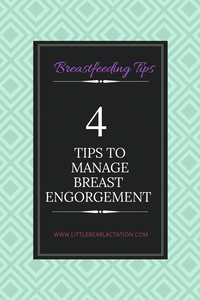 Breastfeeding tips to manage breast engorgement