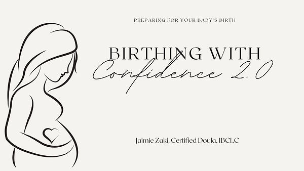 Preparing for your babys birth birthing with confidence online childbirth class
