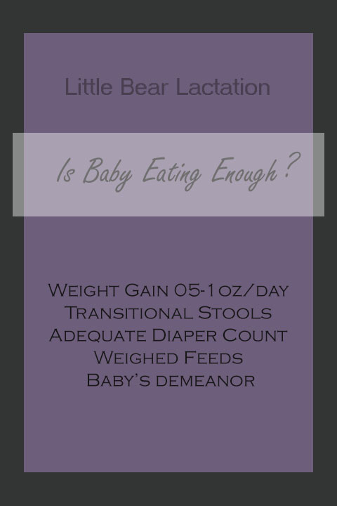 Is baby eating enough? weight gain poop diaper count  breastfeeding tips