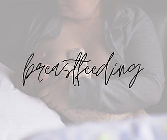 must have breastfeeding items