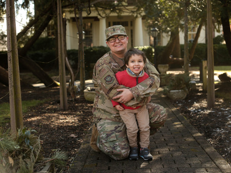 Military Family Photography | Deployment | South Jersey Family