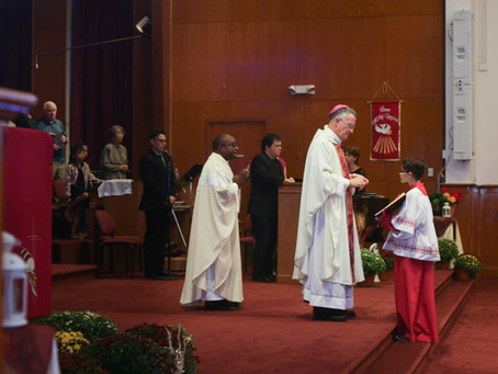 JBMDL St. Francis of Assisi | Confirmation Mass | South Jersey Photographer