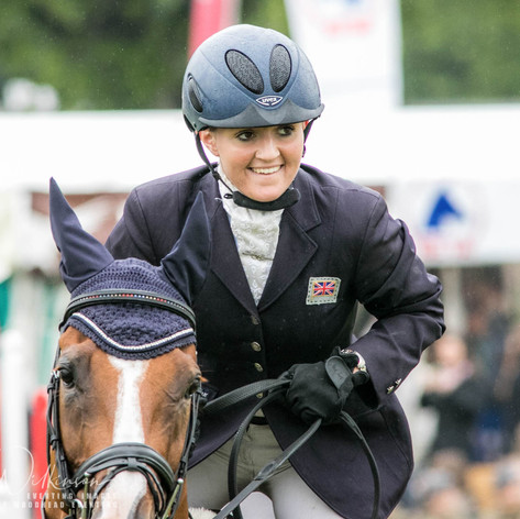 Winning Bramham International CCI3*u25 2015