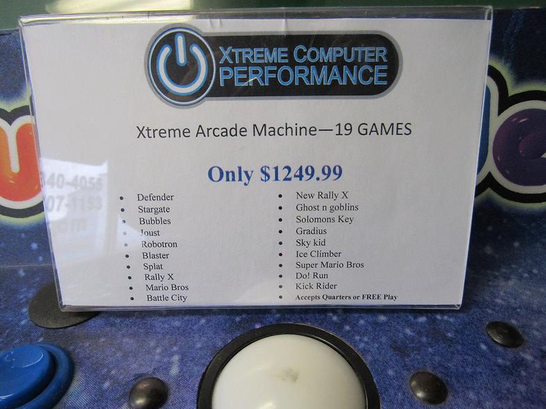 Xtreme Arcade