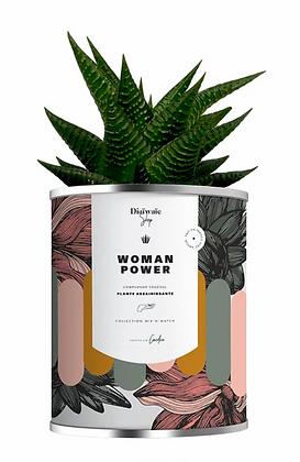 """Plante en pot """" Woman Power """""""