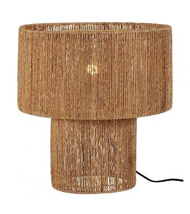 LAMPE EN BAMBOU & MÉTAL