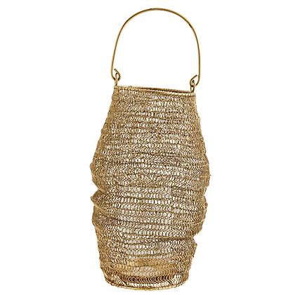 Lanterne en fil tricoté