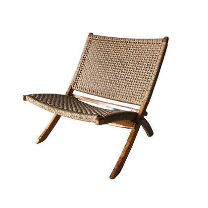 """Chaise en teck pour salon de jardin""""OUTDOOR"""""""
