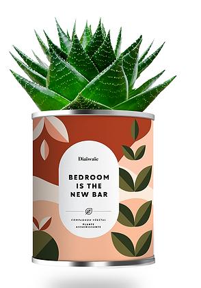 "Plante en pot "" BED ROOM IS THE NEW BAR """