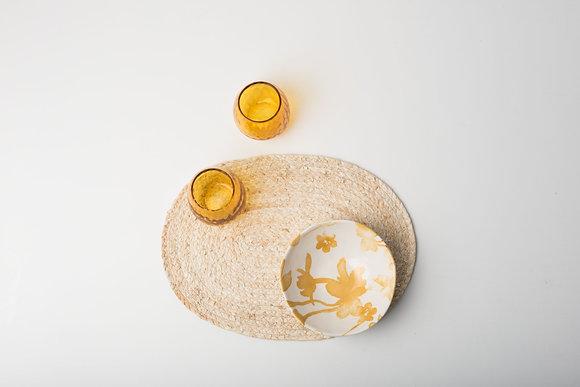 Set de table ovale en Feuille de maïs