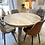 Thumbnail: TABLE REPAS BLANCHI EN BOIS BRUT