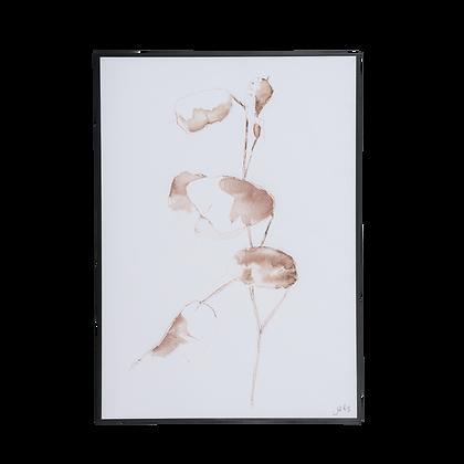 """Tableau """"Fin de l'été""""  BY JOHN BIESHEUVEL"""