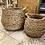 Thumbnail: Paniers Boule en jacinthe d'eau tressée