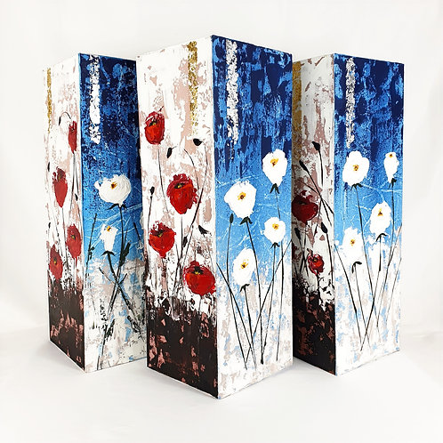 Abstract Painting 3D Canvas