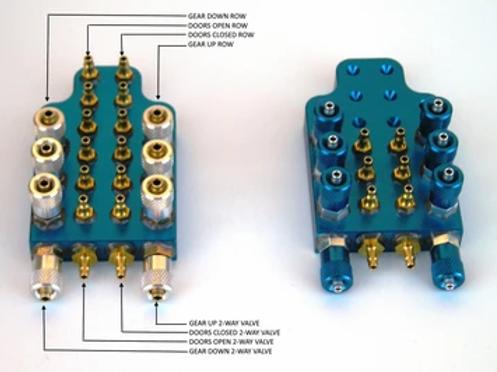 JMP Machined Gear/Door Manifold
