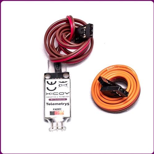 Telemetry Adapter Fut, Jeti, MPX, Hott, JR, Core-PB, FrSky