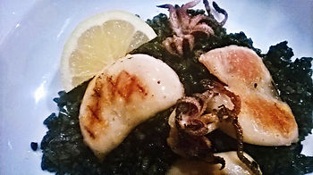Black Rice with Cuttlefish (Arroz Negro)