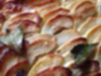 Apple Tart With Hazlenut Frangipane by Marsala Rama