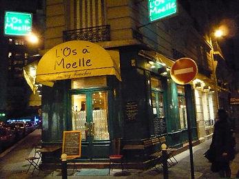 Restaurant review of the Paris restaurant, l'Os Moelle