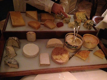 Chees board - Restaurant review of the London restaurant, Chez Bruce
