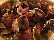 Pork Cheeks with Sherry and Clams from Marsala Rama