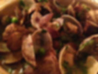 Pork Cheeks, Sherry and Clams by Marsala Rama