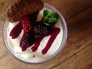 White Chocolate and Cardamom Mousse from Marsala Rama