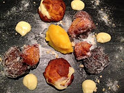Clementine Puffs and Sorbet Recipe - How to make Clementine Puffs and Sorbet