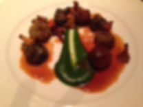 Snails with Spinach - Restaurant review of the London restaurant, Chez Bruce