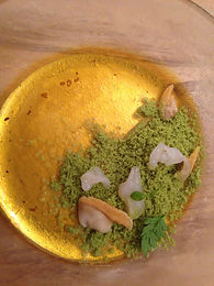 Sea Fennel Sorbet - review of the Paris restaurant, David Toutain