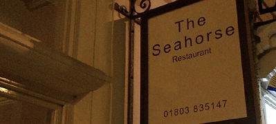The Seahorse restaurant review by UK Food Blog, Marsala Rama
