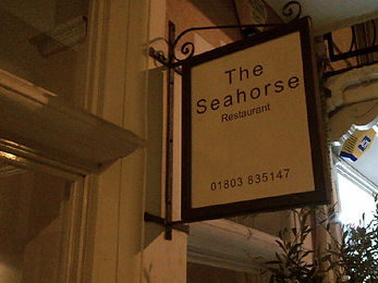 Restaurant review of the South West restaurant, The Seahorse