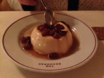 Pedro Ximenez Pannacotta - Restaurant review of the South West restaurant, The Seahorse
