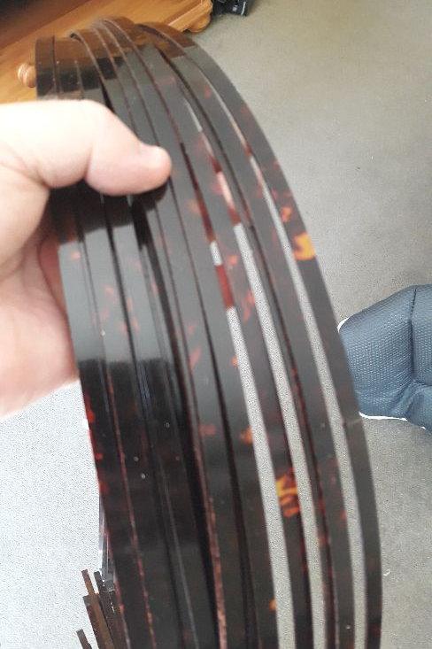 Guitar Binding Torteise X1