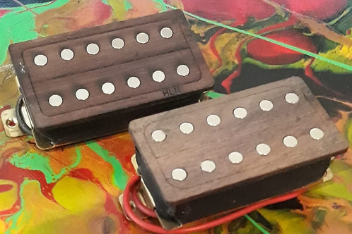 Wood Covered Humbuckers Set