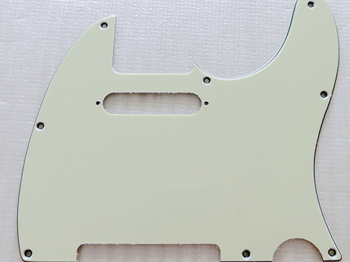 Telecaster Scratchplate Mibnt Green 3 Ply