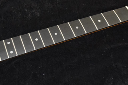 Strat Style Neck Roasted Blackwood Tek ( Hi Tech wood )