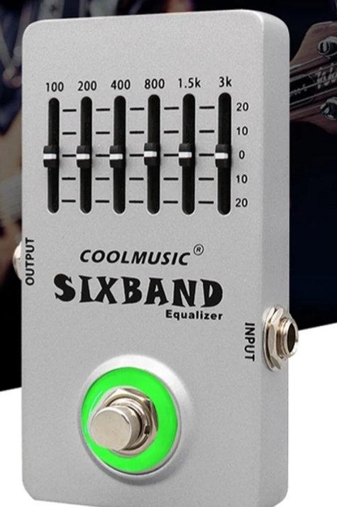 EQ Pedal 6 Band