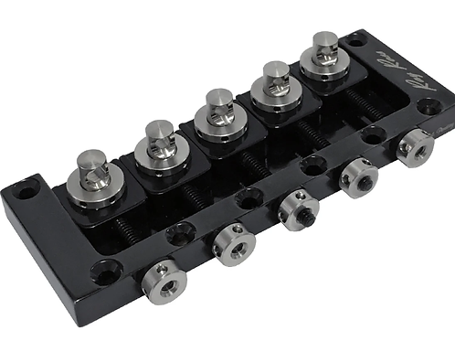 Ray Ross 5 String Bass Bridge Black
