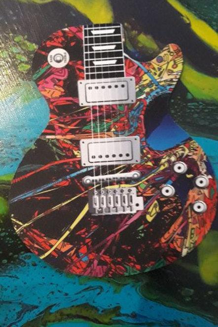Guitar Mouse Pad Paint