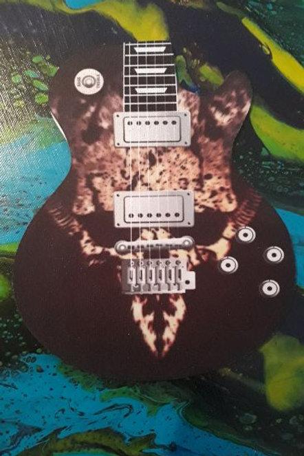 Guitar Mouse Pad Skull