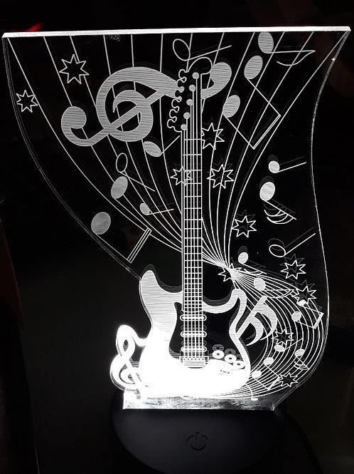 Guitar L E D ROCK Light With Music