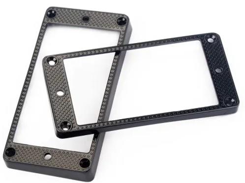 Pick up surrounds pair Black Zinc alloy